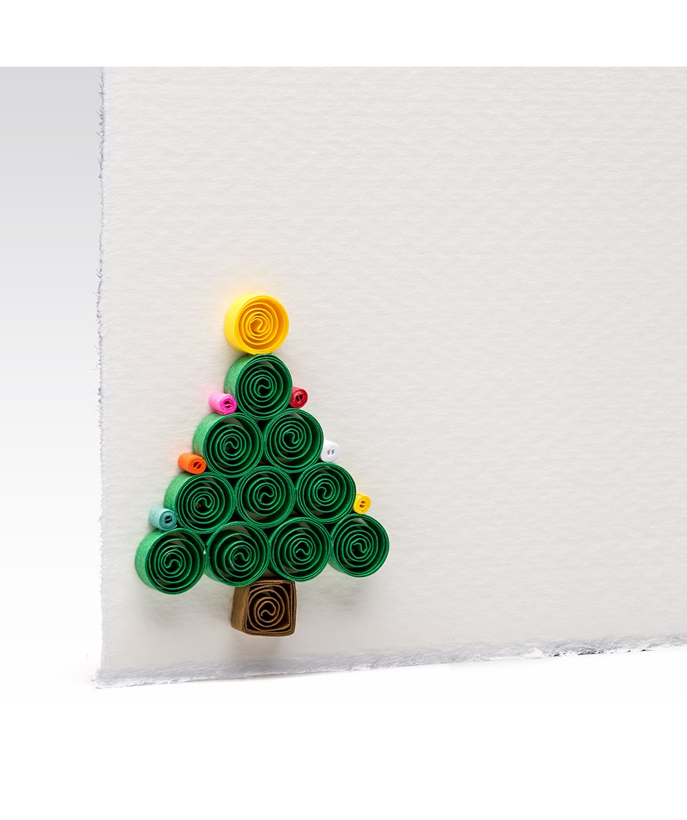 Quilling Christmas Tree Cards And Stationery Products